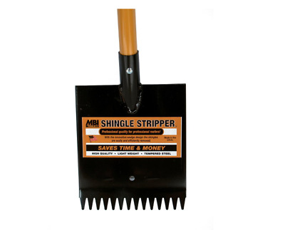 Shingle Stripper Heat Treated Steel D-Grip Handle Commercial And Residential Use
