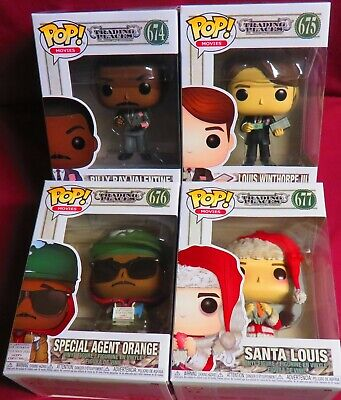 "New Pop Movies, From  ""Trading Places"", Set Of All 4, Billy Ray, Lous, Santa, +"