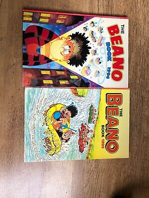 The Beano Book Annual 1994 And 1995
