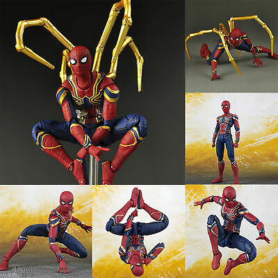 Infinity War Iron Spider-Man Marvel Spiderman Avengers Action Figure Model Toy