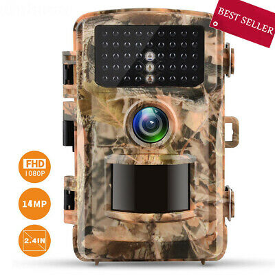 Campark Trail Camera 14MP HD 1080P Wildgame Scouting Hunting Camera Night Vision
