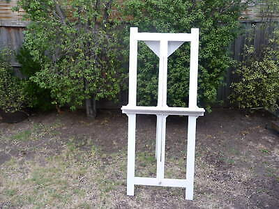 Wooden white  Art Easel and/or Wedding Easel .