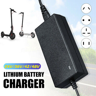 24-48V Lithium Battery Charger For Balance Scooter Electric Bike Vehicles
