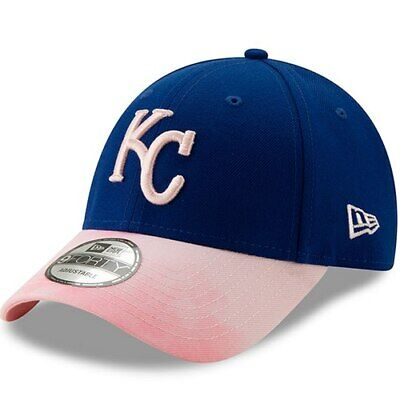 the latest bce28 9f6e5 Kansas City Royals New Era 2019 Mother s Day 9FORTY Adjustable Hat - Royal  Pink
