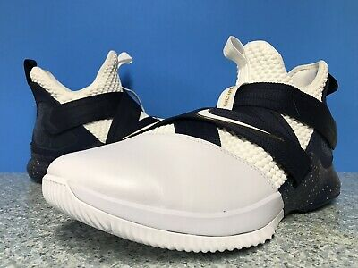 5a75449cd4c Nike LeBron Soldier 12 XII SFG Witness AO4054-100 Sz 15 White Midnight Navy