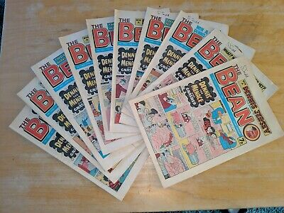Beano comics from 1980, set of 9, issues issues 1955-1960, 1962-1964