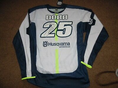 Signed James Dobb Husqvarna  Motocross Jersey New With Tags Size Xl 2016