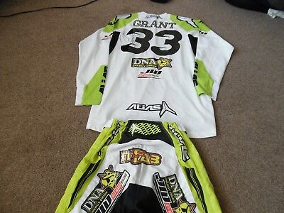 Signed Josh Grant Motocross Jersey &Pants Stunning Item.used Excellant Condition