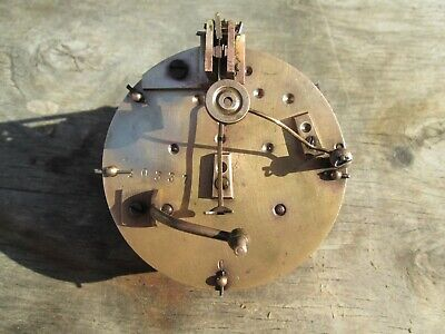 A French Bell Striking 7 Day Mantel Clock Movement