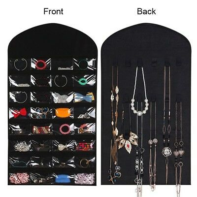 Hanging Jewellery Closet Organiser - Jewelry organizer Hanger & Earring Storage