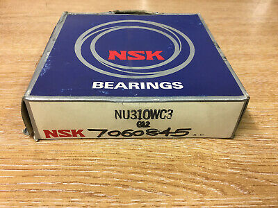 Nsk Nu310W C3 Cylindrical Roller Bearing