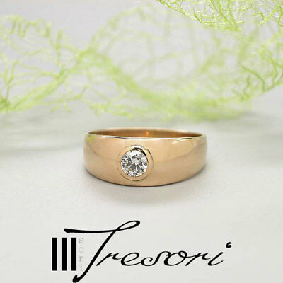 ANTIK 0,25ct DIAMANT RING Gr. 56 GOLD 585 KARAT ALTSCHLIFF ALT **1.190,-€