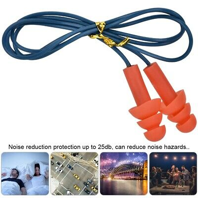 Metal Detectable Hearing Protection Ear Plugs Silicone Noise Reduction Earplugs