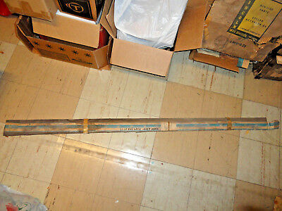 61-64 Chevy Station Wagon Nos Tailgate Inner Glass Run Strip Molding Gm 4308207