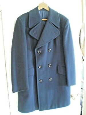 Vintage Burtons Mens All Wool Double Breasted Overcoat