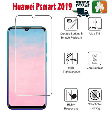 Premium Quality Tempered Glass Screen Protector Film For Huawei Psmart 2019