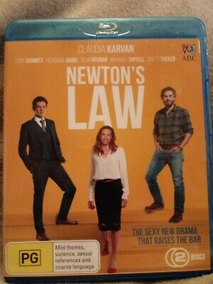 Newton's Law  Blu-ray Region FREE NEW/UNSEALED 2 DISC SET  CHEAPEST ON EBAY