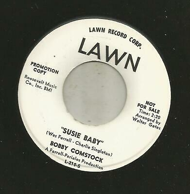 Garage Rockers - Bobby Comstock- Take A Walk  / Susie Baby -Hear - 1963 Dj Lawn