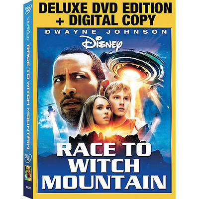 Race to Witch Mountain 2009 2-Disk (DVD & Digital Copy) Sealed & Slip Cover