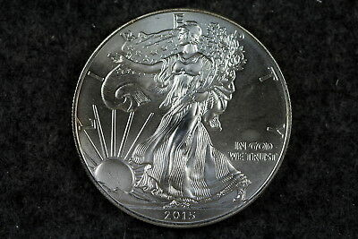 Estate  Find 2015  -   American Silver Eagle!!! #H1648