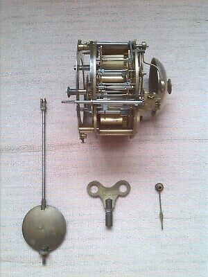 Antique French Japy Freres clock movement Spares / repair.  Good condition.