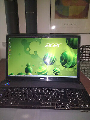 Acer 8930G Ssd+500Gb Hd Good Condition Few Light Marks From Use