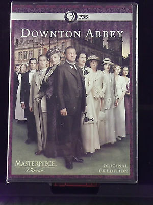 Downton Abbey - Season One (DVD Widescreen 2011) NEW NR TV Drama PBS Masterpiece