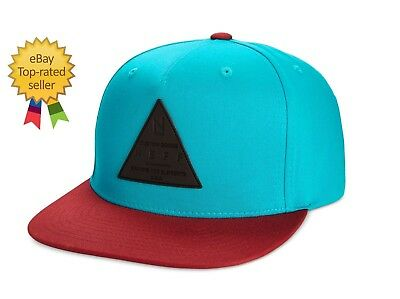 hot sale online 4487e 0d1ab Neff mens surf skate X CAP Teal Maroon Snapback Baseball cap hat OS NEW