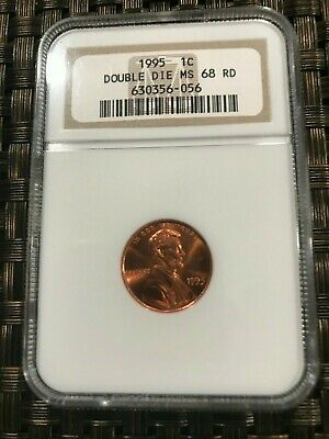 1995-P Ngc Ms68 Rd Doubled Die Obverse Lincoln Memorial Cent!