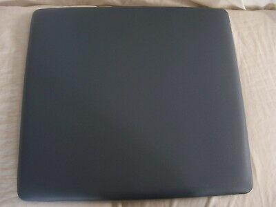 lot of 12 Light Blue Seat Pad Vinyl Cushion for Commercial Folding Chairs