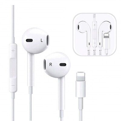 e93d7ec8293 Bluetooth Auriculares para iPhone 7 8 X XS Earphones With Lightning  Connector