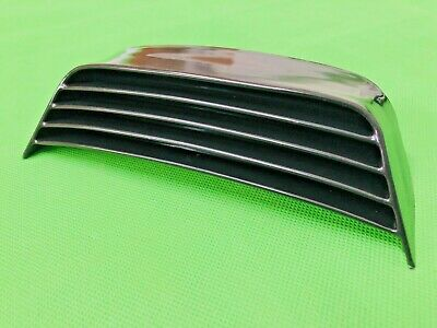 Lambretta Black Plastic Rear Frame Grill Fits Dl Gp