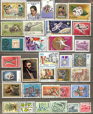 Worldwide 33 Different Used+Mnh Stamps Lot Collection (163)