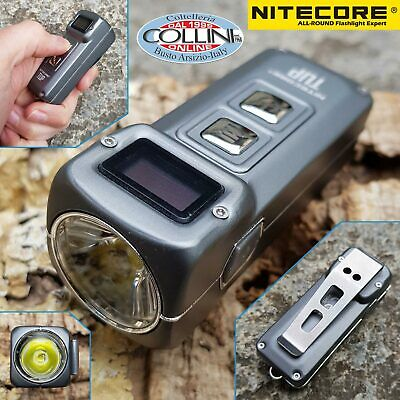 Nitecore - TINI Black - USB rechargeable keychain - 380 lumens and 64 meters - L