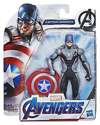 "Marvel Avengers Endgame Titan Superhero Captain America 6"" Action Figure Toy New"