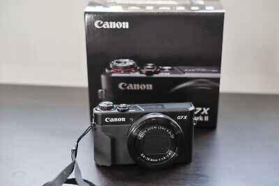 Canon PowerShot G7 X Mark II - Great condition! With Extras!