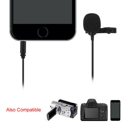 BOYA BY-M1DM Lavalier Microphone Easy Clip On ­Omnidirectional Lapel Mic LF848