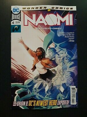 NAOMI #4 First Print NM HOT KEY ISSUE DC Wonder Comics Book 2019 SHIPS NOW
