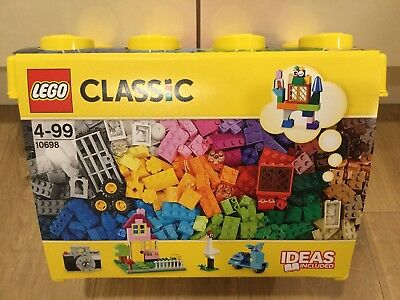 Lego Classic Large Creative Brick Box 10698 - NEW