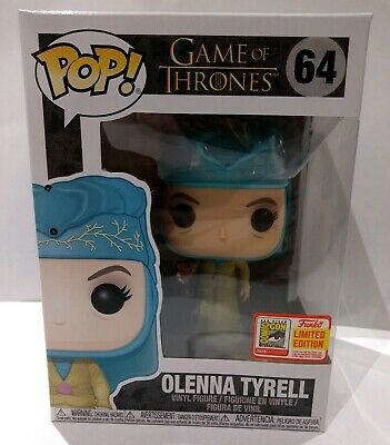 Funko Pop Olenna Tyrell Game Of Thrones 2018 Sdcc Comic Con Official Sticker!