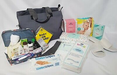 Pre Packed Maternity Hospital Changing Bag - 21 Products