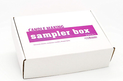 Candle Making Sampler Kit: Great for Beginners. Make THREE Types of Candle From