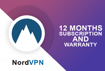 NordVPN | 12 Months Subscription and Warranty | 6 DEVICES | Nord VPN account