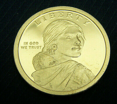 Proof 2015-S Sacagawea Native American Golden Dollar Coin Free Ship