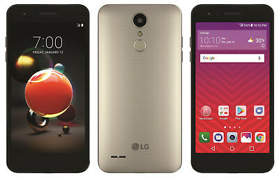 LG - Tribute Dynasty with 16GB Memory Cell Phone - Champagne (Sprint)  Grade C
