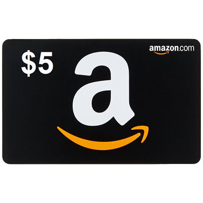 AMAZON $5 GIFT CARD (USA) -Fast Delivery,Good price(only .com)