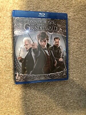 Fantastic Beasts The Crimes Of Grindelwald Bluray 1 Disc Set ( No Digital HD)