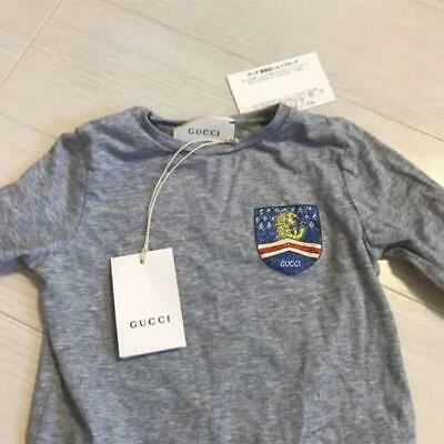 f68861c4a GUCCI auth Gucci Children Long Sleeve T-shirt Top authentic RARE JAPAN