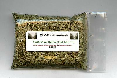 Spell Mix, Herbal Blend -   Purification  1.0 oz