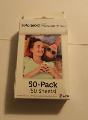 Polaroid 2x3 Premiun ZINK Paper Twin-Pack 50 Sheets Sealed  Fast Shipping !!